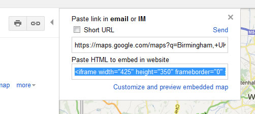 How To Hide The Infowindow In An Iframe Embedded Google Map Biostall