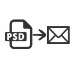 PSD to Email