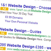 Google Ad and Font Changes